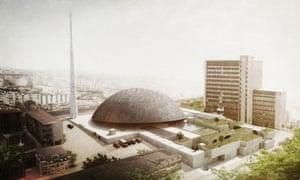 OODA's unsuccessful design for Pristina's new central mosque.