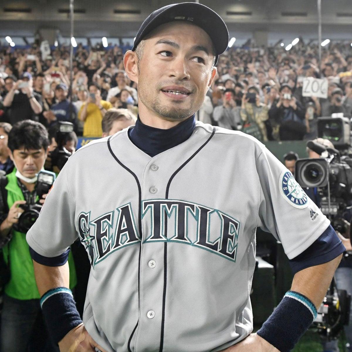 Ichiro Suzuki retires to ovation after sparkling 27-year baseball career |  Sport | The Guardian