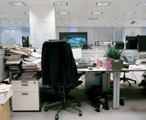 Inside The Financial Times newsroom, London
