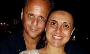 Santiago Klein and his wife for How We Met