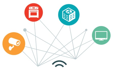 Home Automation Illustration internet of things