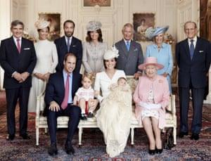 Mario Testino Princess Charlotte christening portrait