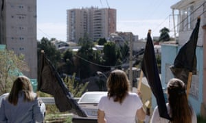 Housing activists in Valparaiso, Chile, featured in the documentary film, Push: 'Residents are being evicted and homes demolished to make way for luxury condominiums, most of which stand vacant.'