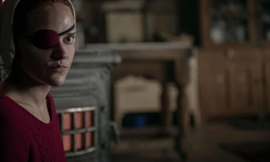 Janine, played by Madeline Brewer, in The Handmaid's Tale.