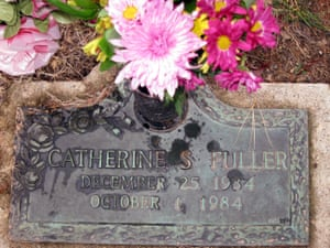 The grave of Catherine Fuller.