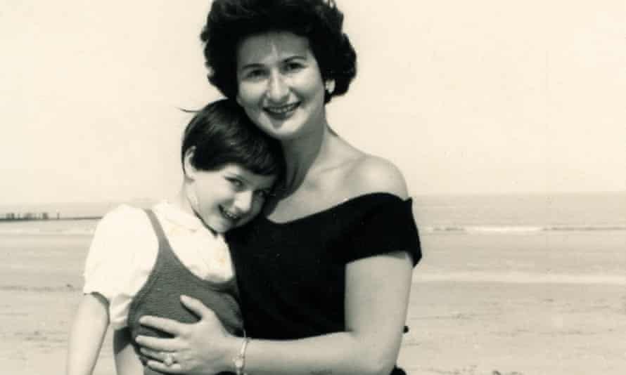 Chantal Akerman and her mother, Natalia.