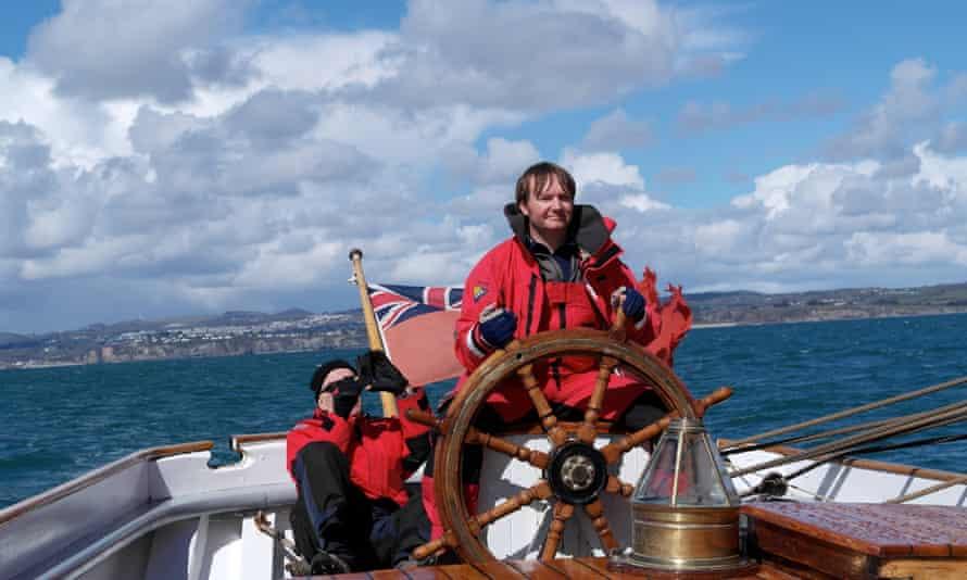 Bessie Ellen sailing trip.