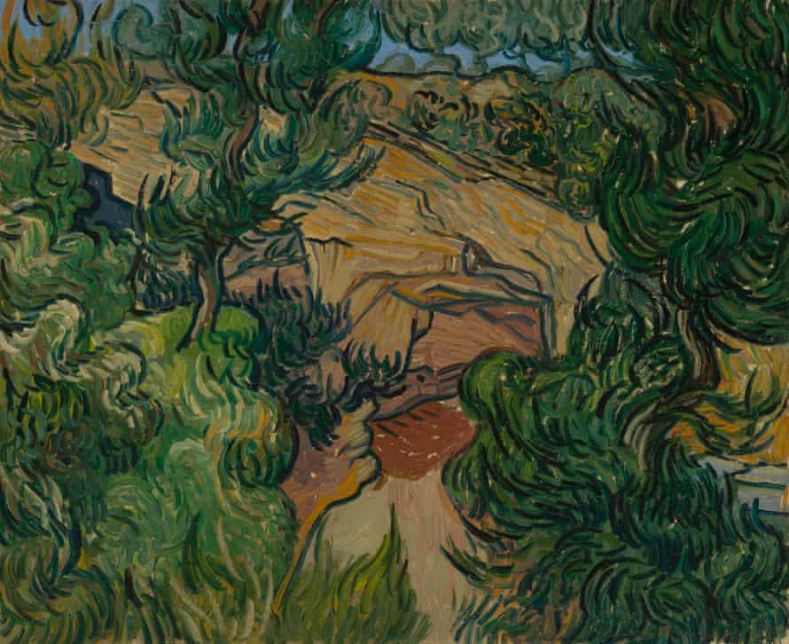 Van Gogh's Entrance to a Quarry (1889).