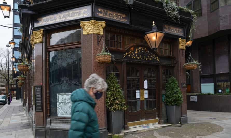A closed pub in London