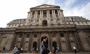 Exterior of the Bank of England