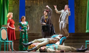 """English Touring Opera's February 2020 production of Così fan tutte"""