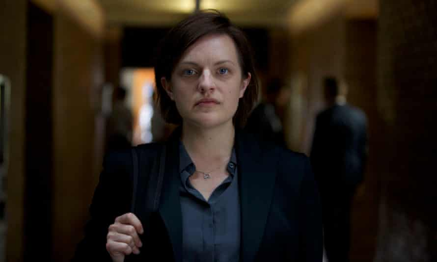 Elisabeth Moss as Robin in Top of the Lake, which comes to BBC2 in July.