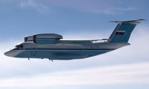 A Finnish Air Force photograph shows a Russian AN-72 transport plane, taken by a Finnish aircraft pilot. Finland's Defense Ministry said it suspects a Russian military aircraft on Thursday violated Finnish airspace