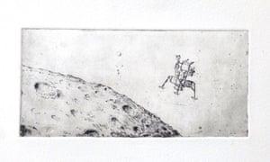 'Dust shelter I' etching