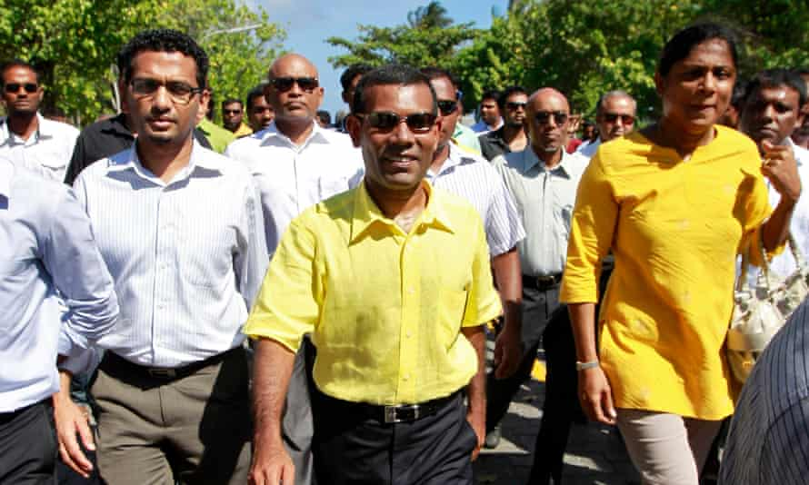 Former Maldivian president Nasheed captivated crowds at Copenhagen climate talks in 2009