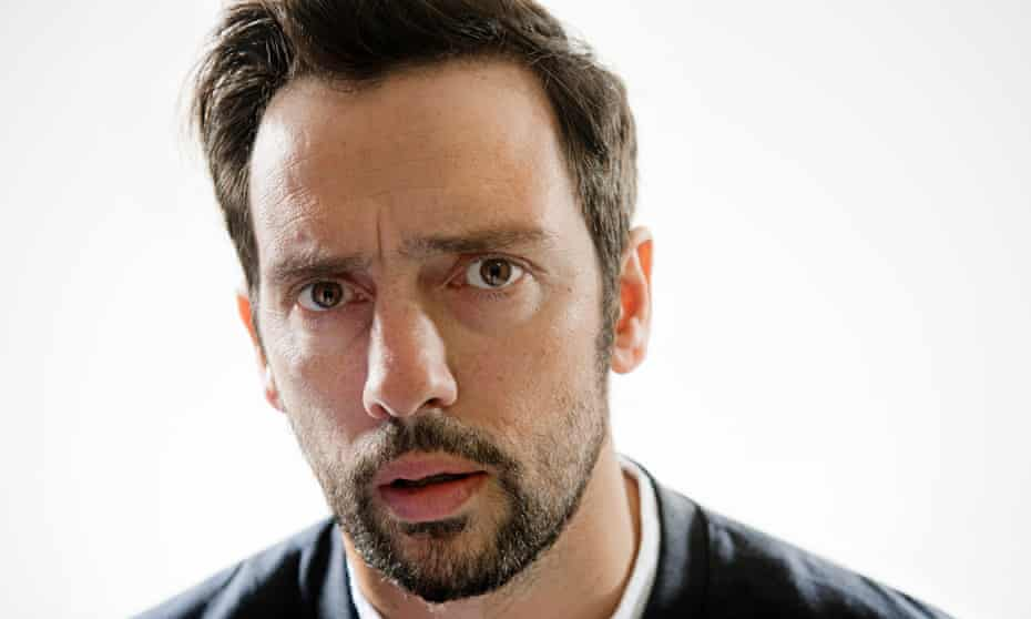 'Jesus, my interviews used to be funny – what happened to me?' … Ralf Little.