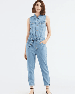 Tapered jumpsuit overalls, £95, Levi's.