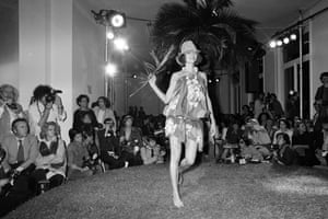 Kenzo's ready-to-wear spring-summer 1977 collection, shown in Paris in October 1976, the same year the brand opened its flagship store in Paris