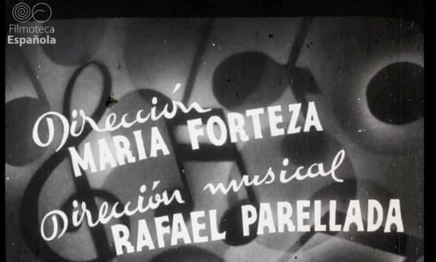Credits for Mallorca show María Forteza as director.