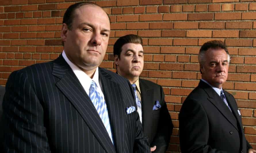 James Gandolfini, Steve Van Zandt and Tony Sirico.