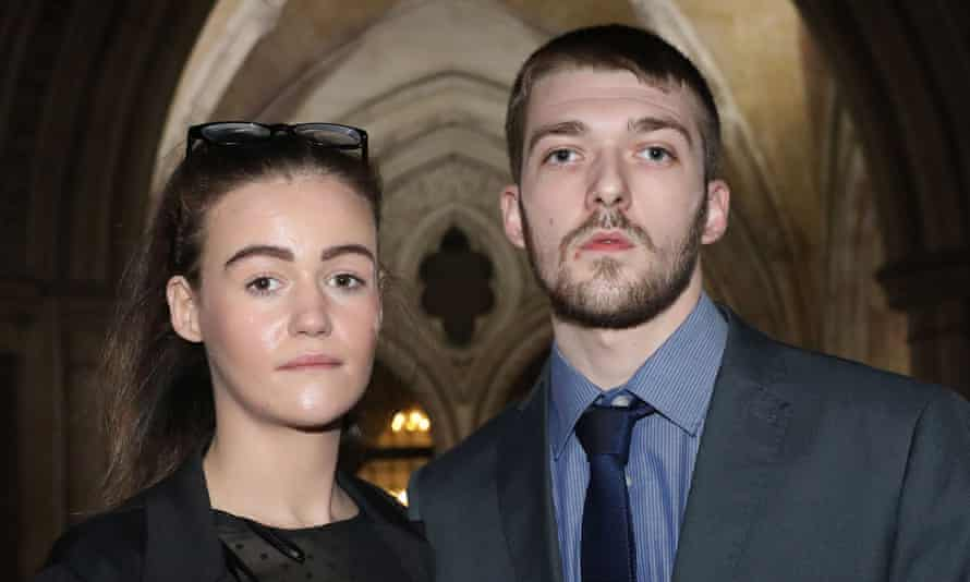 Alfie Evans's parents Kate and Tom.