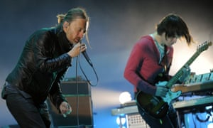 Keyboard warriors … Radiohead responded to a hackers' threat by releasing the music online themselves.