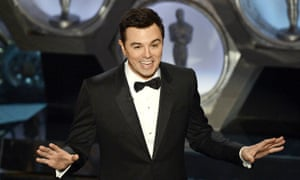 Seth MacFarlane delivers 'edgy' jokes and a nauseating song at the Oscars in 2013