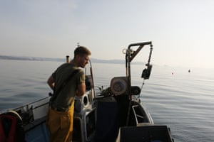 Fisherman Alex Mucklow.