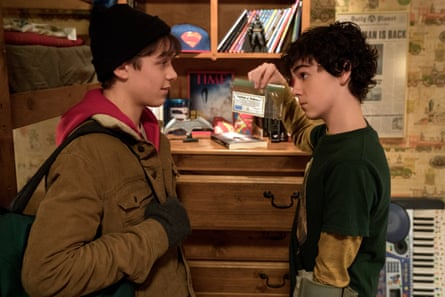 Asher Angel and Jack Dylan Grazer in Shazam!