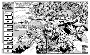 How we made: 2000 AD. Judge Dredd / Nemesis and other characters