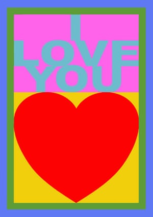 I Love You – Peter Blake