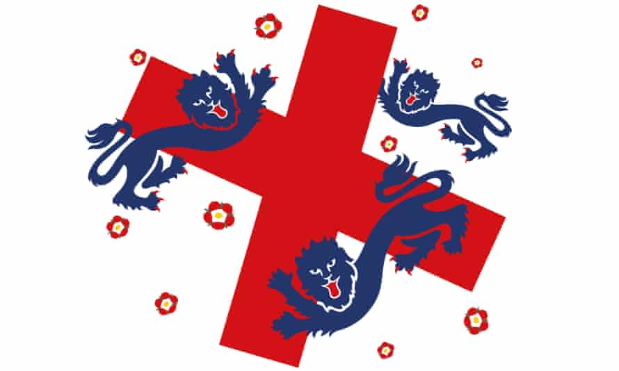 England flag graphic