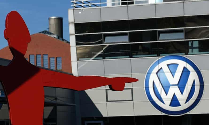 A VW showroom in Düsseldorf