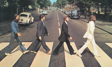 Enduring vinyl classic … the Beatles' Abbey Road.