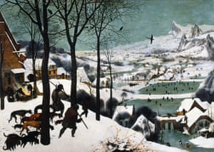 The Hunters in the Snow (1565) by Pieter Bruegel the Elder.