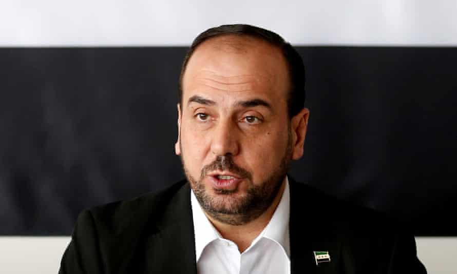 Nasr al-Hariri, chairman of the Syrian Negotiation Commission