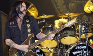 Lemmy on stage with Motörhead in 2003