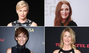 Charlize Theron, Julianne Moore, Toni Collette and Laura Dern, all appearing soon at your local multiplex.
