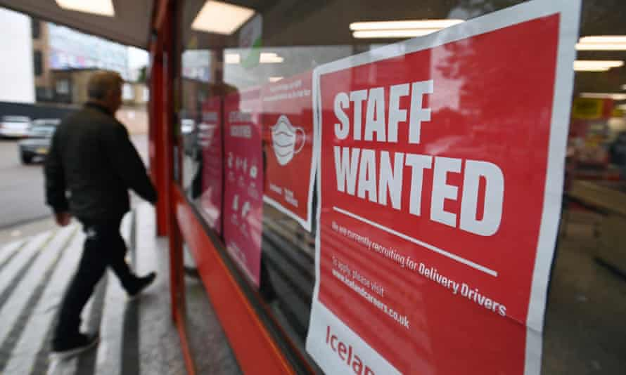 A supermarket advertising staff wanted in London