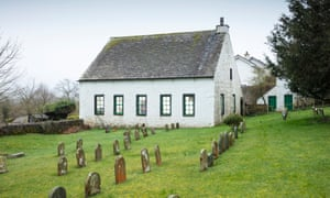 The Friends' Meeting House in Pardshaw, Cumbria, was built in 1729.