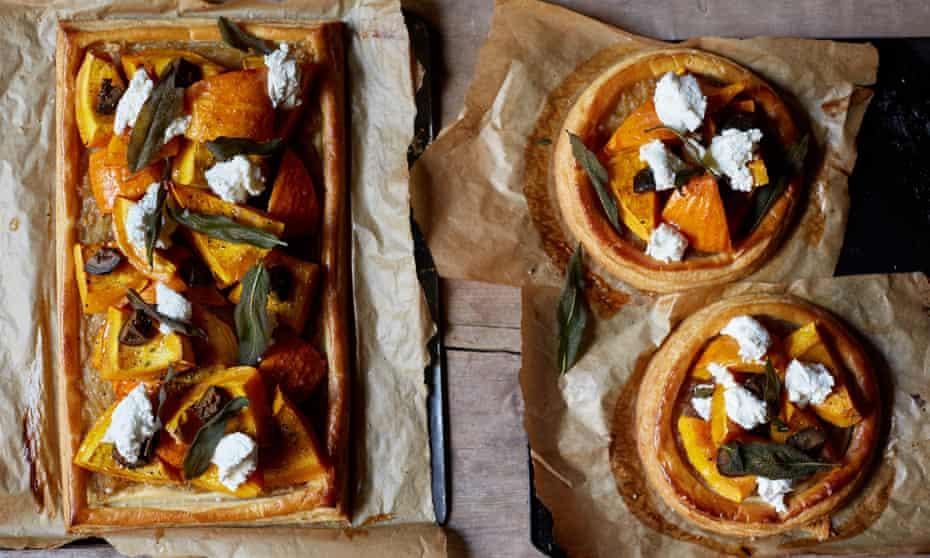 Pumpkin galette