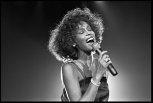 Whitney Houston at Wembley Arena in 1988.