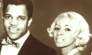 Raynoma and Berry Gordy Jr in 1961 - the image features on the cover of her autobiography, Berry, Me and Motown (1990)
