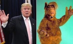 Donald Trump and Alf