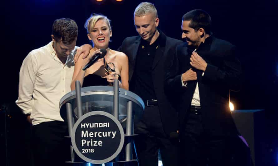 Wolf Alice take home the 2018 Mercury prize.