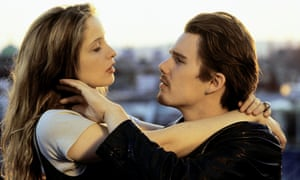 'The stakes got higher' … Delpy and Hawke as the talkative twosome, who also appeared in Before Sunset and Before Midnight.