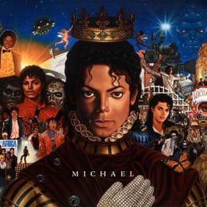 The artwork for the 2010 posthumous album Michael.