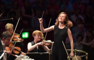 'Natural authority': Mirga Gražinytė-Tyla conducting the CBSO at the Proms.