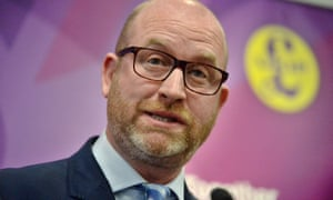 Paul Nuttall said: 'The best response we can make is to ensure that the democratic process continues.'