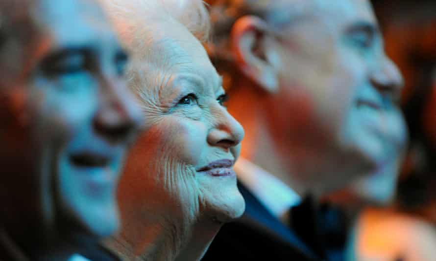 Olivia de Havilland in 2011.